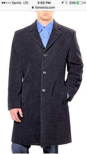 Hathaway cashmere coat men - 46L for Sale in Great Falls, VA