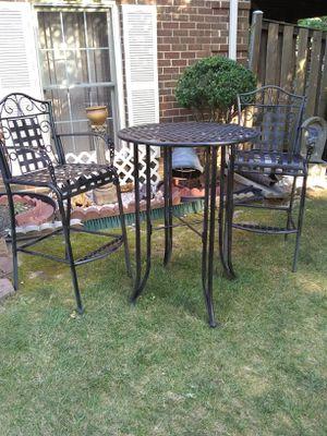 3pc patio set bar high for Sale in Alexandria, VA