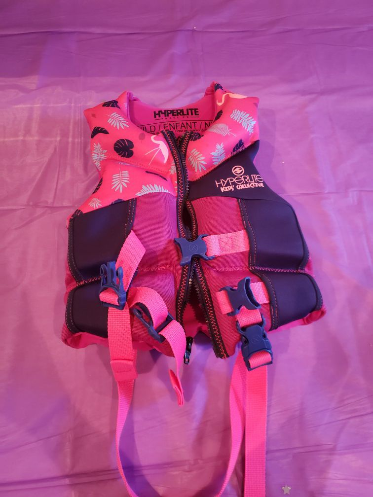 Child's swim vest