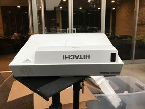 Hitachi CP AW-3003 ultra short throw projector for Sale in Seattle, WA