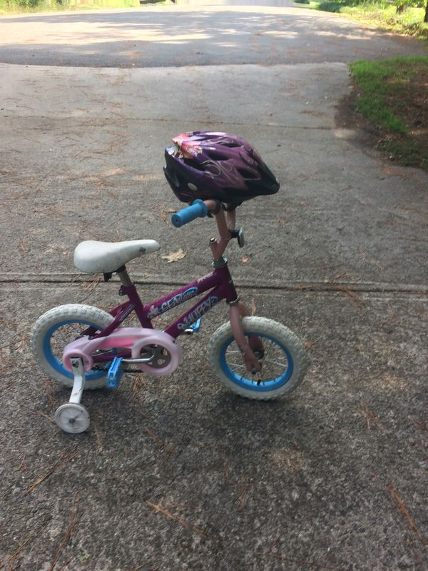 "308e8628cae 12"" toddler bike with training wheels and helmet for Sale in Sanford ..."