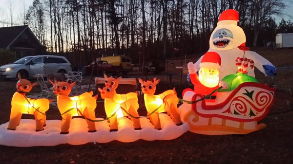 Christmas Inflatables.16 5 Ft Christmas Inflatable For Sale In Us Offerup
