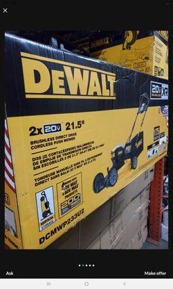 DEWALT 20V MAX XR BRUSHLEES LAWN MOWER TOOL ONLY BRAND NEW Thumbnail