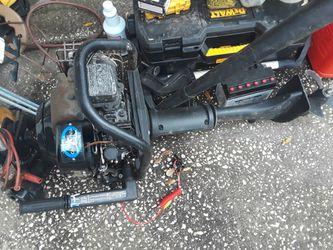 5 Hp Briggs And Stratton Motor With Aluminum 12 Foot John Boat Thumbnail