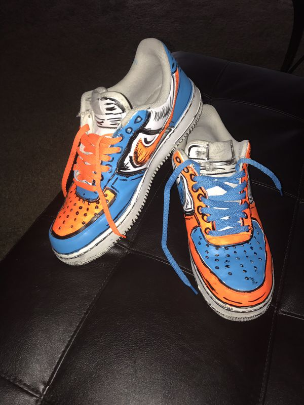 Custom Cartoon Graphic Jordan Air Force 1 For Sale In Phillips