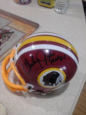 HoF Redskins Player Signed Helmet -Charley Taylor for Sale in Fairfax, VA