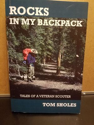 Rock in my backpack book for Sale in WA, US