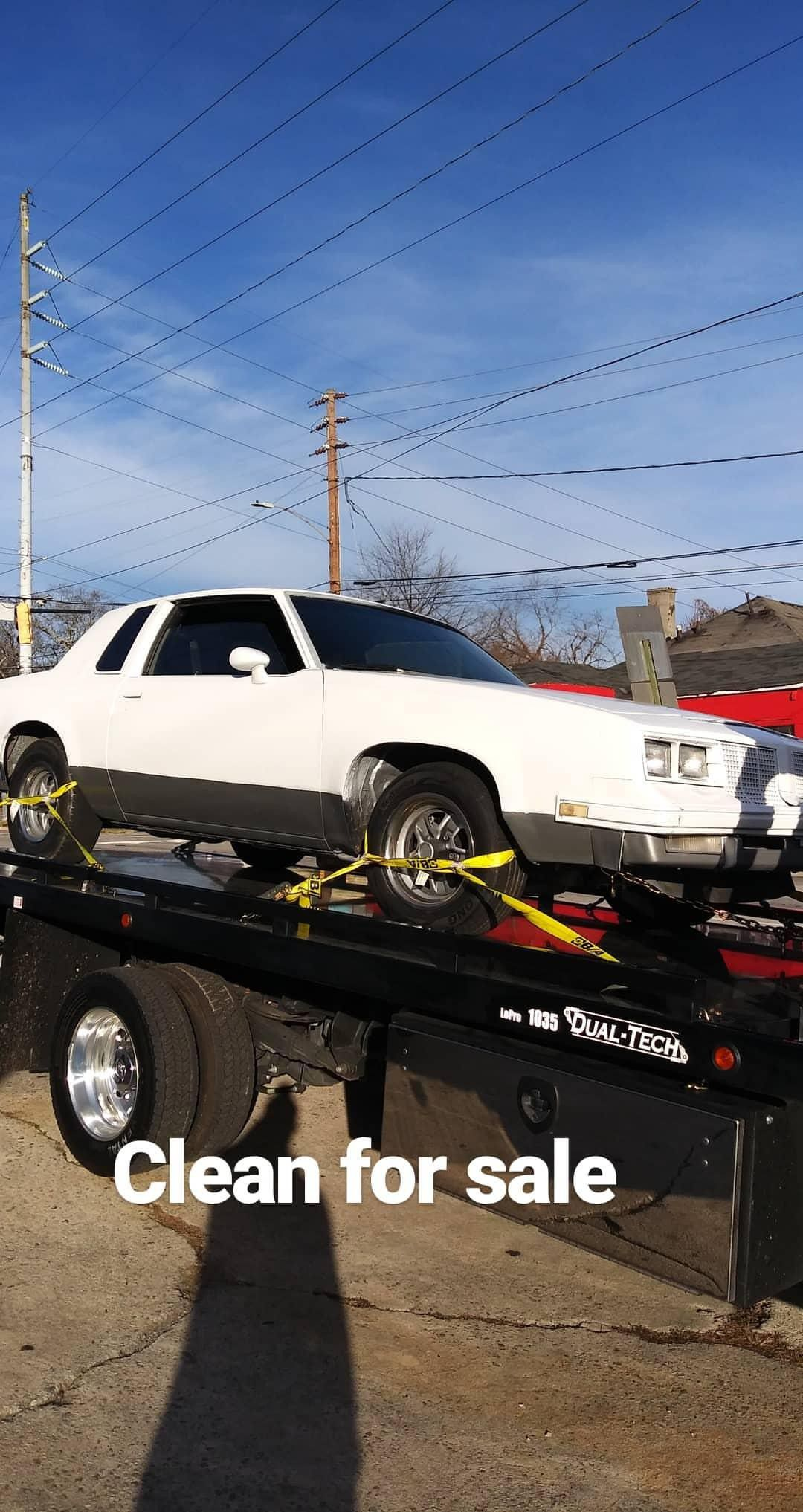 Chevy Cutlass 350 motor and transmission