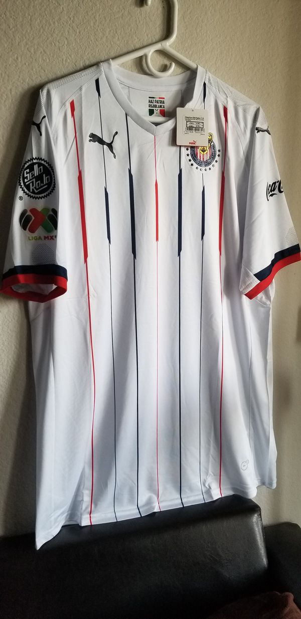 333fcf6ae PUMA MENS 18 19 chivas away Jersey original for Sale in Phoenix ...