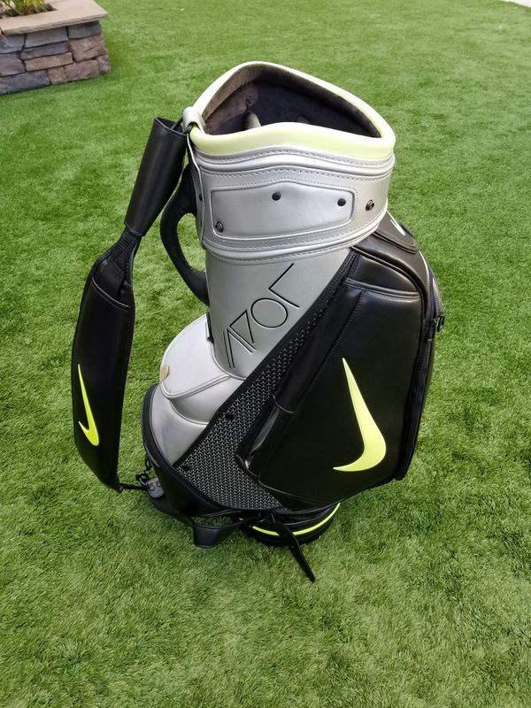 Elegant Nike Vapor Rzn Black Japanese Model Staff Cart Golf Bag