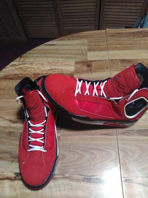 Men's Jordan red sz 12 for Sale in Rustburg, VA