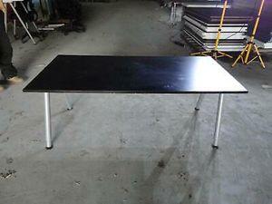 Photo Black IKEA galant rectangle desk