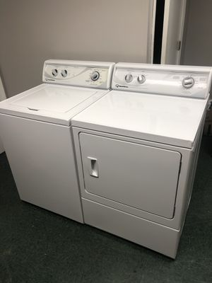 Photo Speed Queen washer and dryer matching set