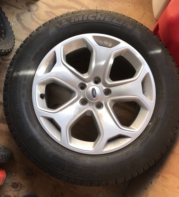 P  R Michelin Tires Ford Edge Tires And Wheels Including Sensors Auto Parts In Austin Tx Offerup