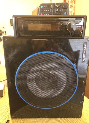 Stereo kenwood amplicador Rockville for Sale in Dallas, TX