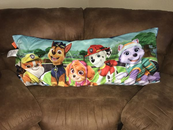 Nickelodeons Paw Patrol Puppy Pals Body Pillow Christmas Holiday