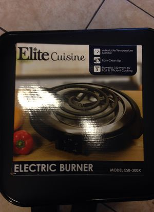 Elite Cuisine Electric Burner for Sale in Los Angeles, CA