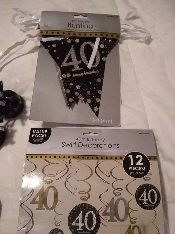40th Birthday Decorations For Sale In Peoria AZ