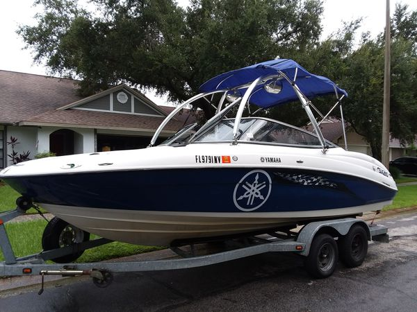 Yamaha sx210 2 engines jetboat for Sale in Brandon, FL - OfferUp