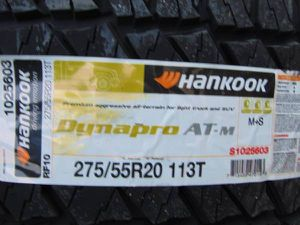 Photo 4 Brand New P 275 55 20 Hankook Dynapro AT/M Tires