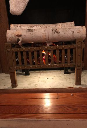 Antique decorative log set for Sale in Washington, DC