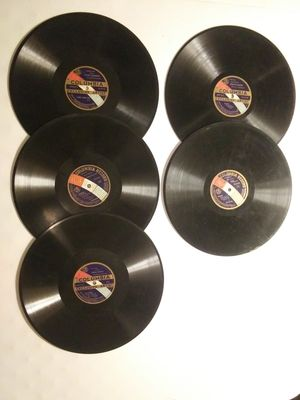 Antique Columbia Records Lot (5)-early 1900s Vintage, Collectable Records for Sale in Lovettsville, VA