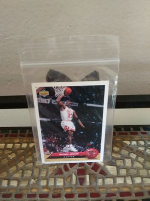 Photo Michael Jordan Chicago Bulls Collectible Basketball Card