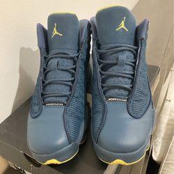 Jordan 13 Retro Squadron Blue Thumbnail