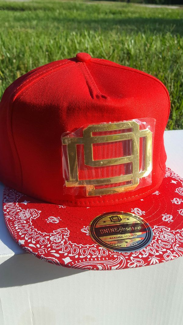 D9 Reserve snapback red paisley blood bandana Piru gang California Compton  for Sale in New Orleans, LA - OfferUp