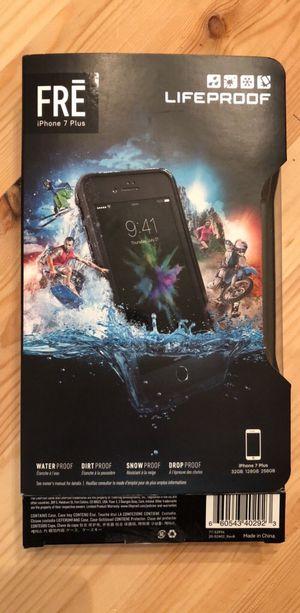 Lifeproof Waterproof Phone Case FRE iPhone 7+ Plus for Sale in Herndon, VA