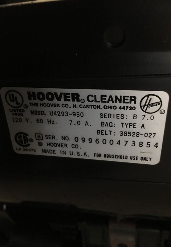 Hoover encore supreme vacuum for sale in pittsburgh pa offerup junglespirit Gallery