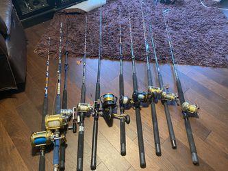 Rod And Reels Fishing Poles Thumbnail