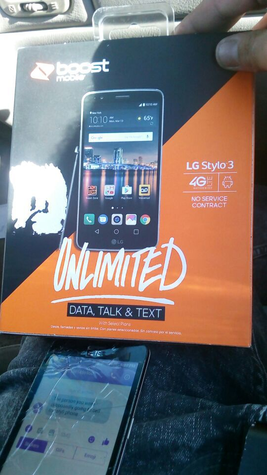 Lg stylo 3 new in box  Boost Mobile for Sale in Dublin, CA - OfferUp