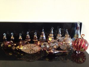 Glass ornaments for Sale in Pittsburgh, PA
