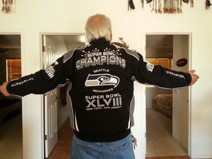Seahawks superbowl jacket for Sale in Brinnon, WA