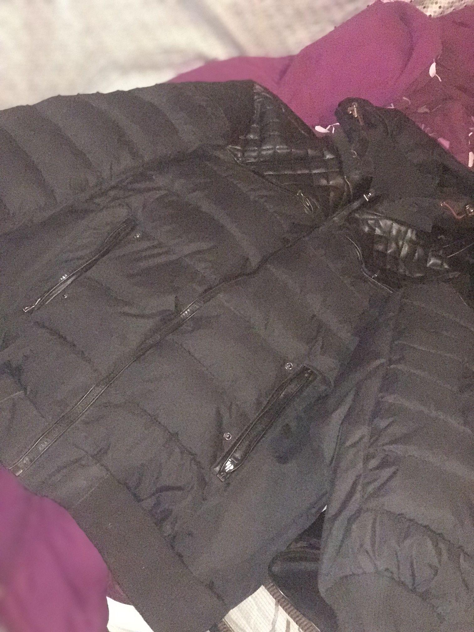 Bulky coat
