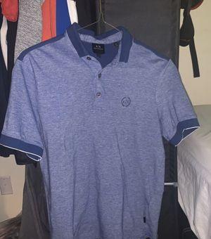 Photo Armani exchange collar shirt