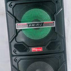 RIDGEWAY./ PORTABLE SPEAKER BLUETOOTH / FMRadio /KARAOKE /USB. TFCARD / MP3 CONTROL REMOTE /  🎤 MICROPHONE INC. (4000W) BATTERY RECARGABLE ( each. Thumbnail