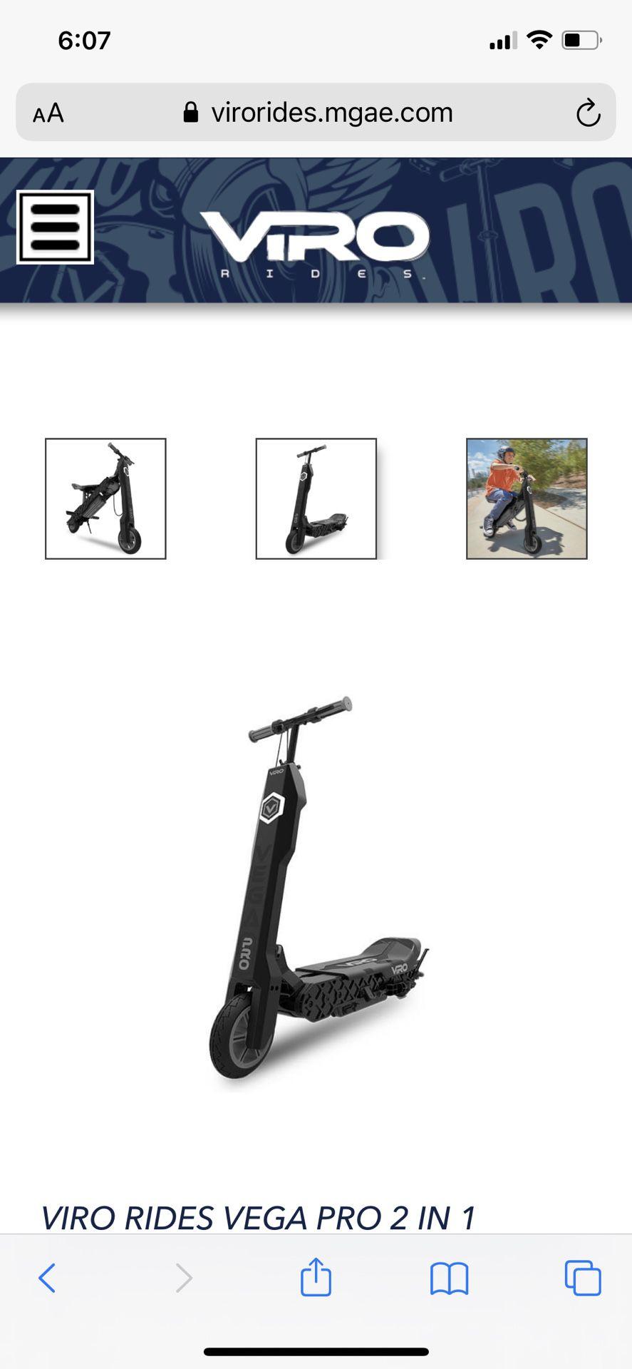Viro Vega Pro- Electric Scooter