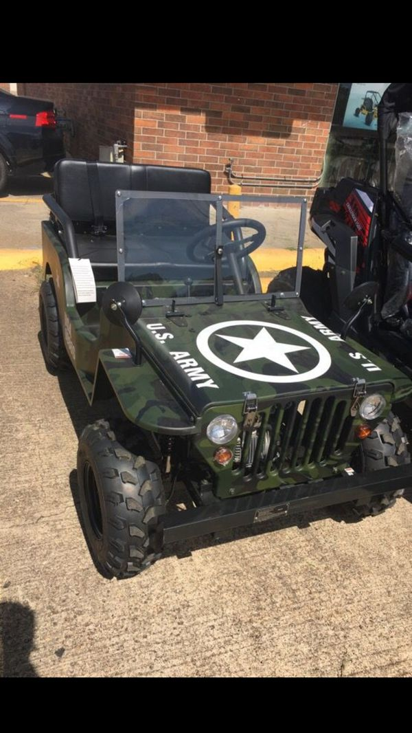 New 125cc Mini Jeep Fully Automatic For Sale In Fontana Ca Offerup