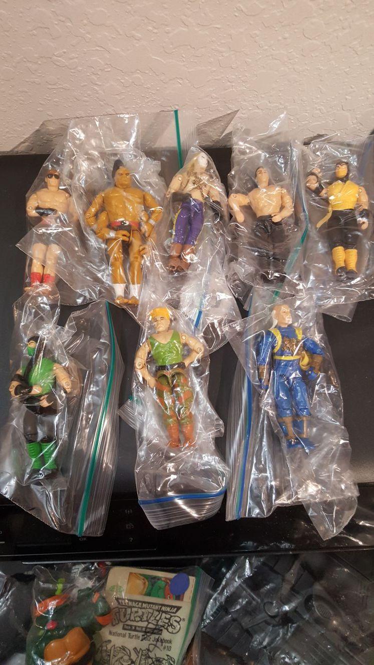 Eight GI Joes Street Fighter edition