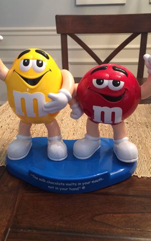 Double M&M Candy Dispenser Collectible for Sale in Mount Dora, FL