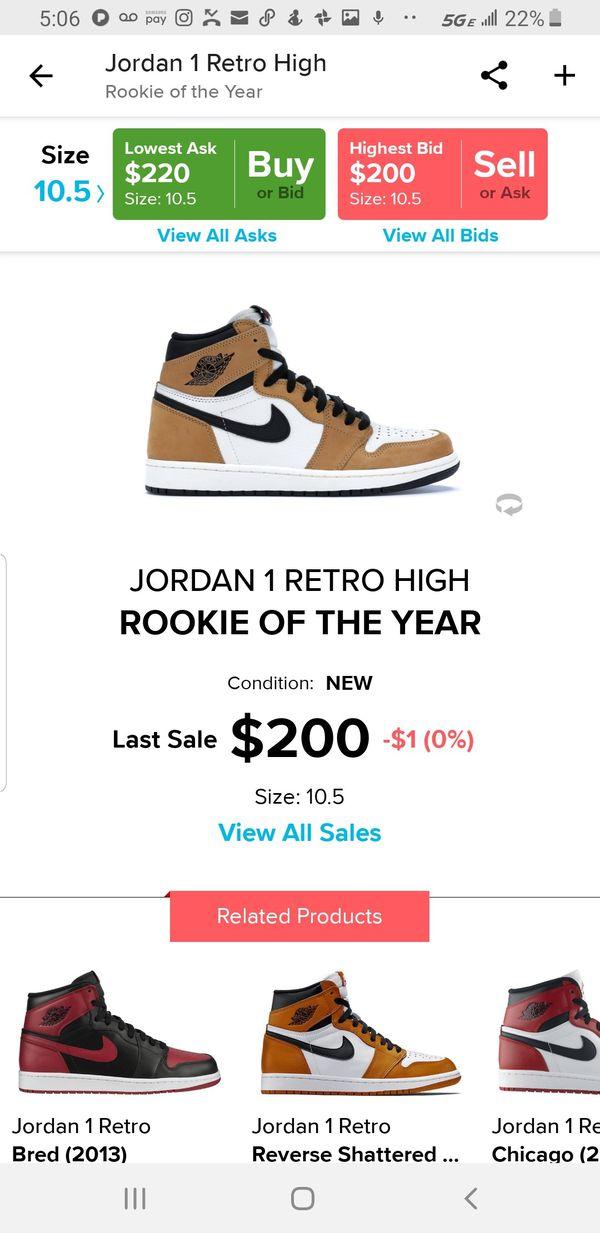 14e726c78b7c03 Jordan 1 Retro Rookie Of The Year for Sale in Beaverton
