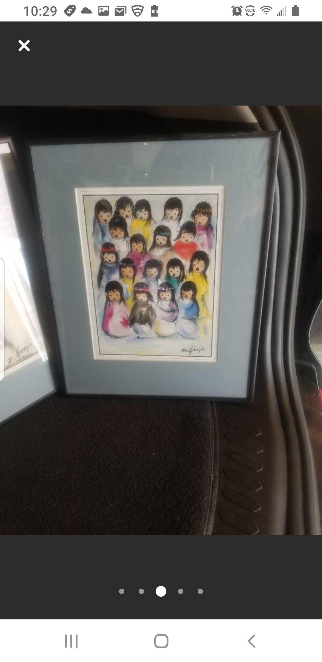 Ted DeGrazia Framed prints (3)