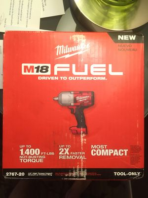 Milwaukee M18 FUEL 18-Volt Lithium-Ion Brushless Cordless 1/2 in. Impact Wrench with Friction Ring (Tool-Only) -BRAND NEW for Sale in Denver, CO