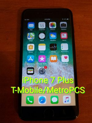 iPhone 7 Plus T-Mobile MetroPCS Lyca Mobile for Sale in Duluth, GA