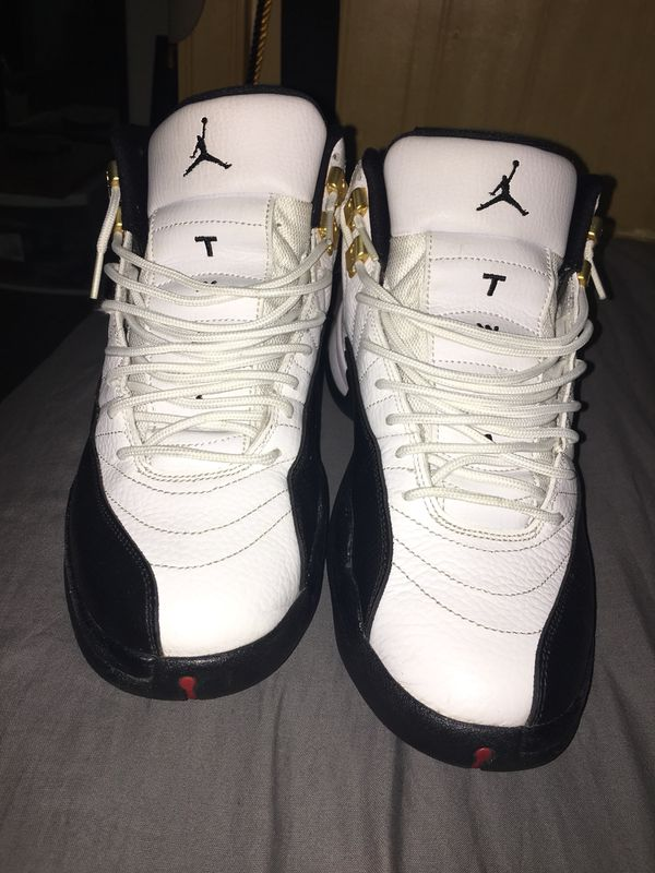 13c63342a4b7 Men s Jordan 12 Taxi size 8.5 for Sale in Norwalk