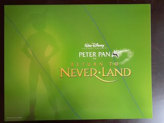 Peter Pan in return to Neverland Walt Disney Pictures 2002 exclusive Commemorative 11x14 Lithograph Thumbnail