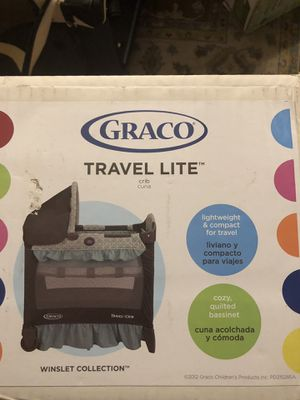 Graco Travel Lite Crib for Sale in Mountain View, CA