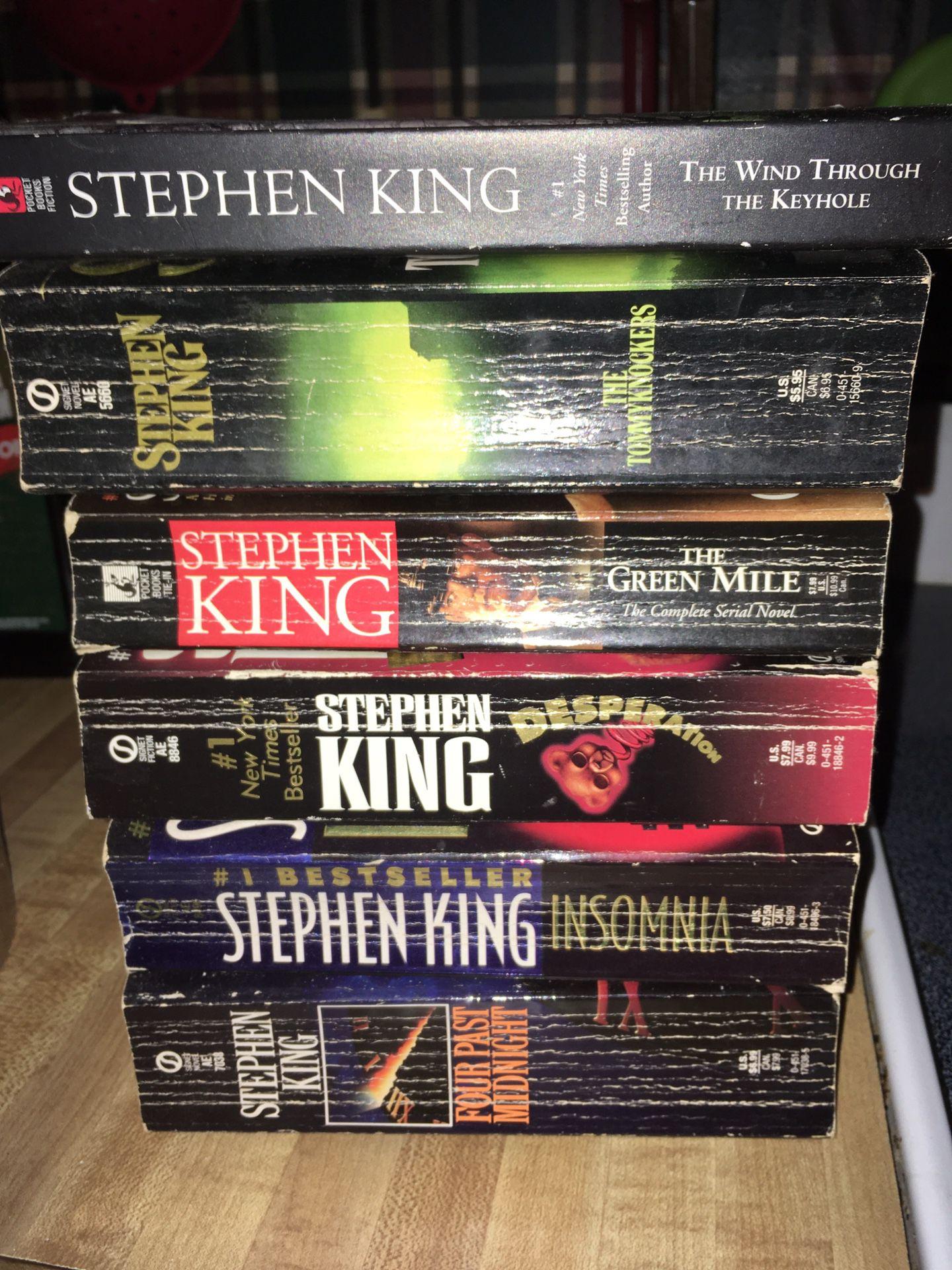 Stephen king Novels